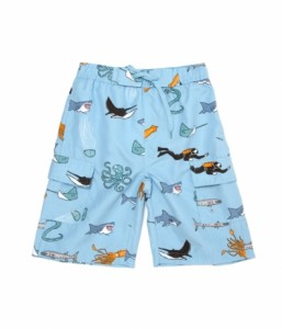 Shark Beach Swim Trunks