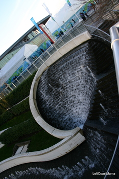 Waterfalls at the Fairmont Waterfront