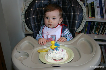 Aidan's First Birthday