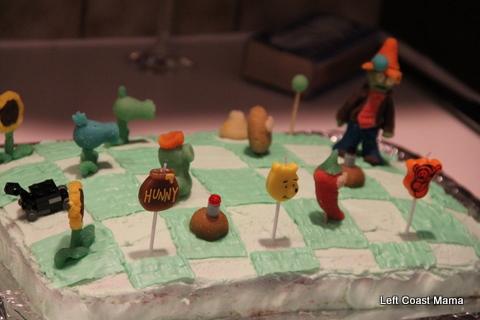 Yum! Zombie cake!