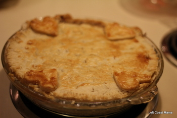 Warm from the oven, Tourtiere. YUM!