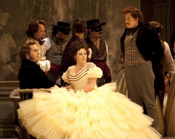 La Traviata; Photo by Tim Matheson