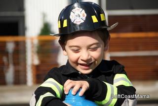 Aidan as a Firefighter