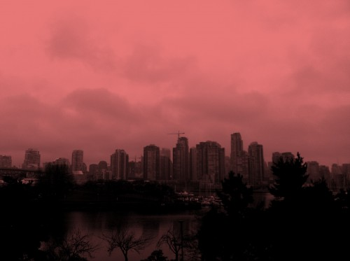 Downtown Vancouver, Colour Filter, Pixlromatic