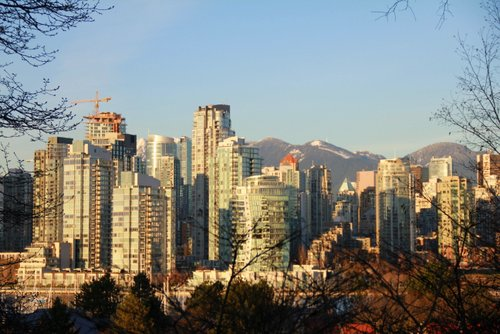 Vancouver is a beautiful city when the sun shines.